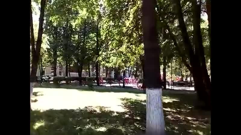 Химки 191 улица Московская памятник Ленина ул. Чапаева парк имени пятидесяти 50-летия октября летом