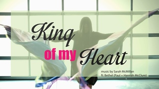 Praise Worship Flags Dance (King of My Heart Cover by Bethel Church) CALLED TO FLAG Claire