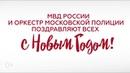 Новогодний музыкальный флешмоб МВД России в аэропорту Внуково