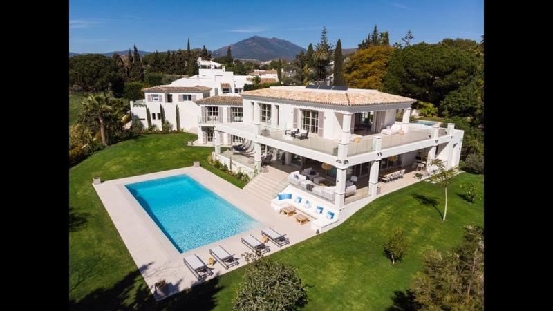 Luxury Contemporary Villa in Aloha Golf Nueva Andalucia Marbella Spain