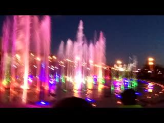 открытие фонтана