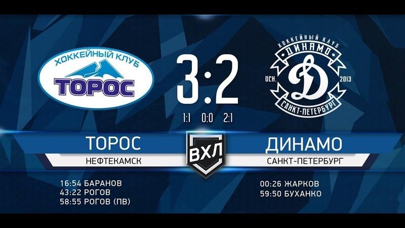 «Торос» - «Динамо» 3-2. Голы