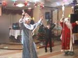 Встреча Нового года - Happy new year - с Дедом Морозом - Ольга Столярова Бирюзовые Колечки и Александр и Елена Турабовы.