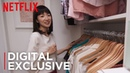 How To Organize Your Closets Tidying Up with Marie Kondo Netflix