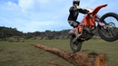 HOW TO RIDE ALONG LOGS Cross Training Enduro