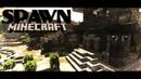 СПАВН для сервера Minecraft. NyaPlay. Peaceful village. SERVER SPAWN CINEMATIC.