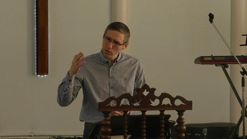 Встреча с законом Христа Олег Бакшинский Домодедовская Библейская Церковь