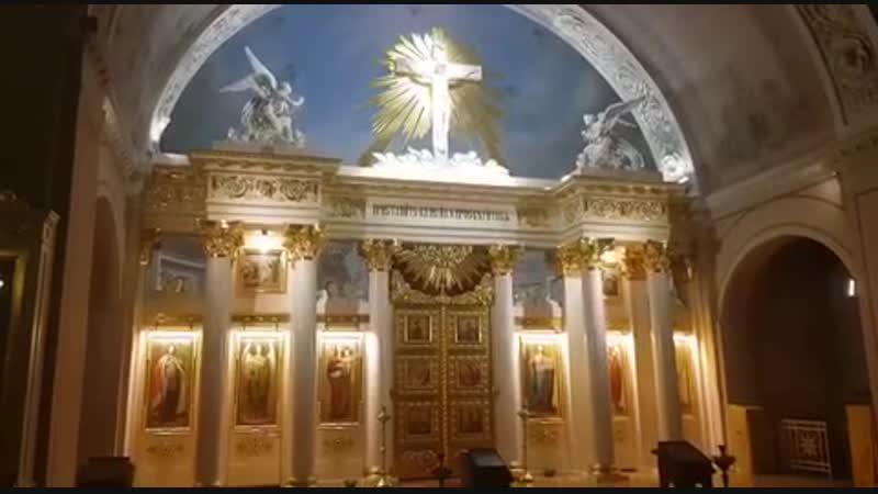Аксион эстин, 1пл. глас, храм мученицы Татьяны при МГУ