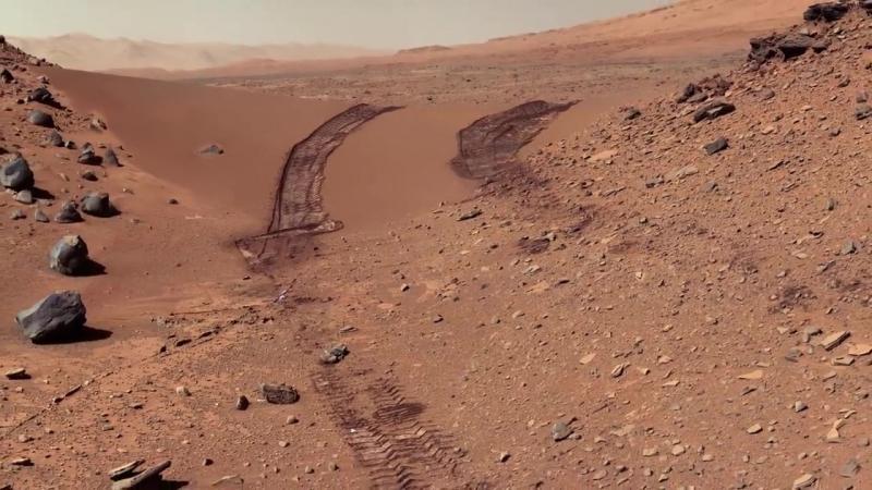 НЕБО вид с Марса. Sky of Mars
