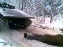 Лесорубы, коктейль Молотова и танк