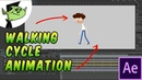 How to animate a walking cycle in After Effects Tutorial