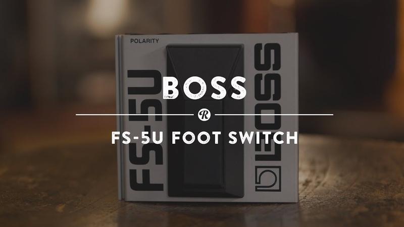 Boss FS-5U Foot Switch   Reverb Demo Video