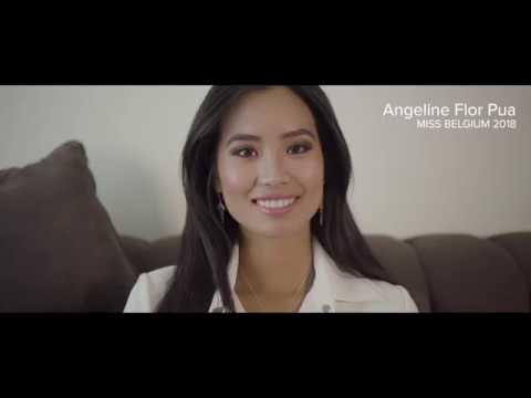 BELGUIM, Angeline, FLOR PUA - Contestant Introduction ( Miss World 2018 )