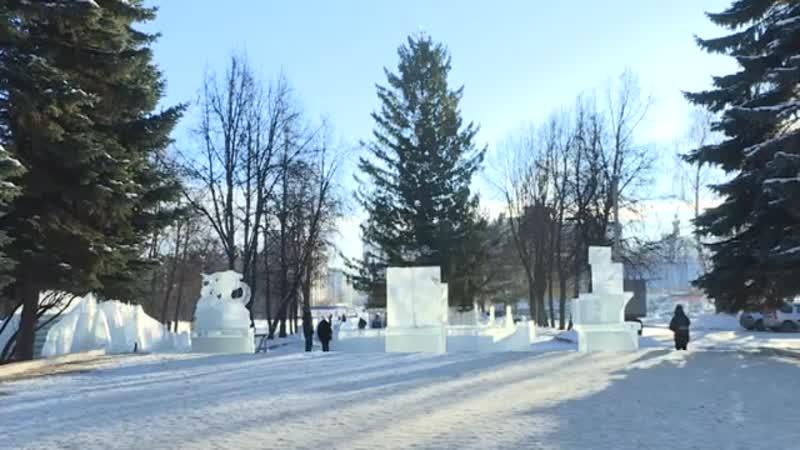 Чем готовятся удивить уфимцев строители ледовых городков?