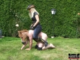 KK - Cowgirls know to ride human horses