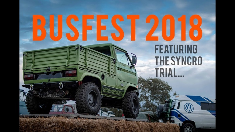 BUSFEST 2018 and the VW T3 Syncro Trial
