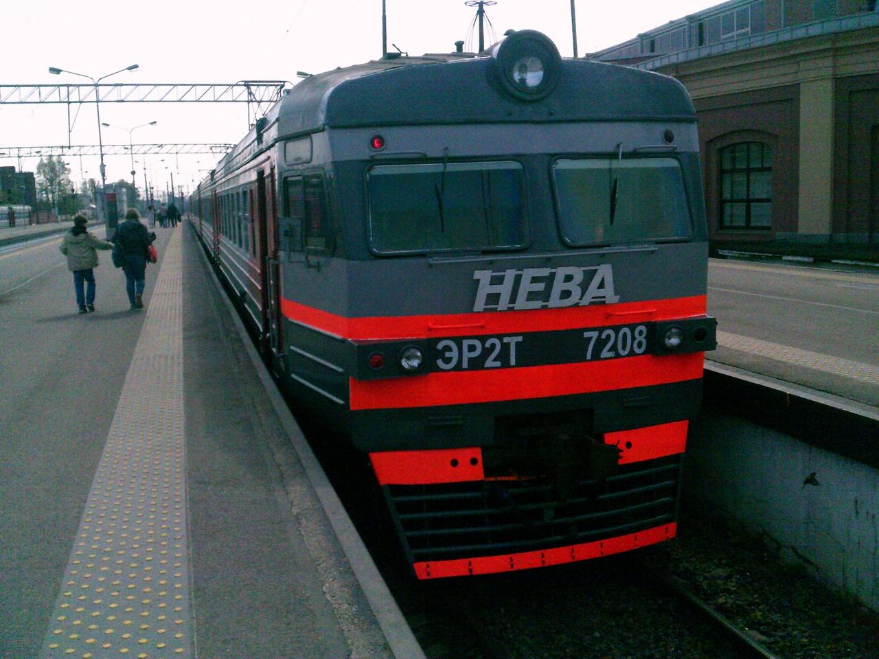 ЭР2Т-7208 - последняя электричка Советского Союза в России