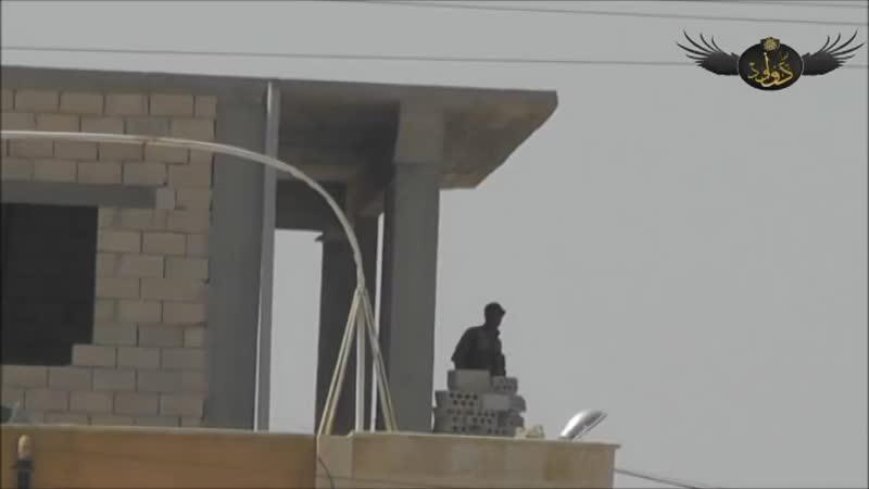 Сирия.Архив.Боевики Джейш аль Ислам подорвали бойца САА