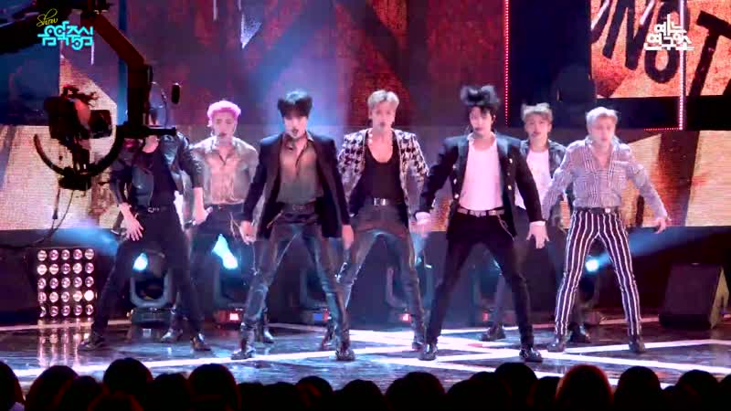 [VK][190223][MBC fancam] MONSTA X - Alligator @ Show!Music Core