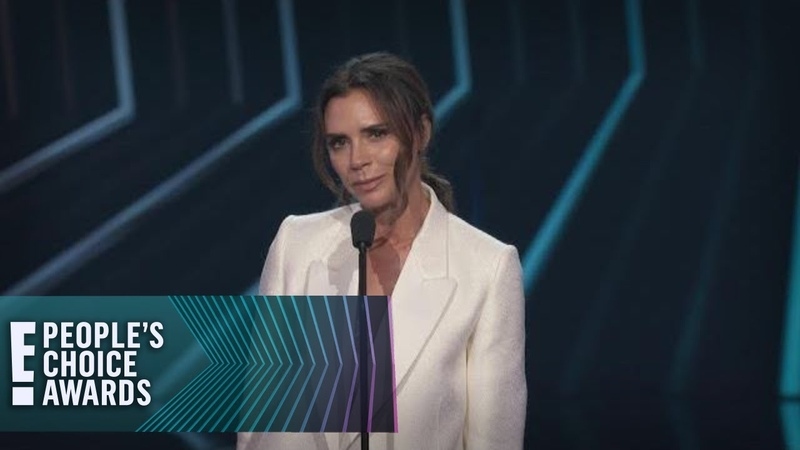 Victoria Beckham Accepts E! PCAs Fashion Icon Award | E! People's Choice Awards