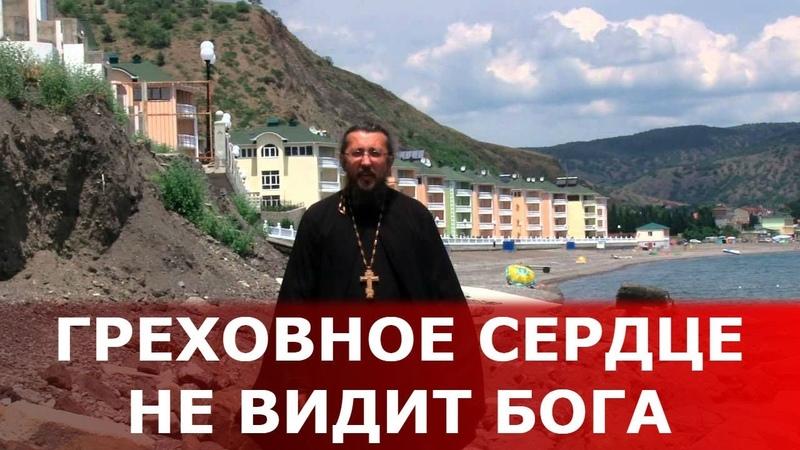 Греховное сердце не видит Бога. Священник Игорь Сильченков