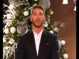 Серхио Рамос и Morri Crisma - поздравление с Рождеством