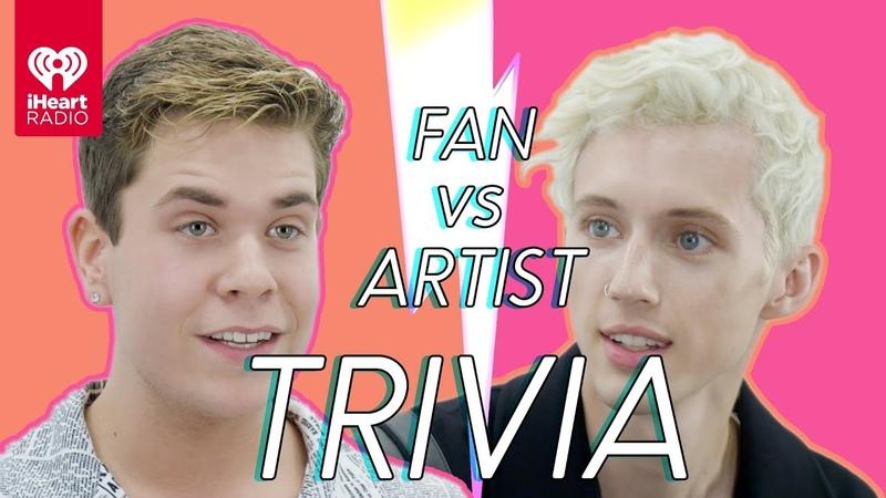 Troye Sivan Challenges A Super Fan In A Trivia Battle Fan Vs Artist Trivia