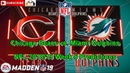 Chicago Bears vs. Miami Dolphins | NFL 2018-19 Week 6 | Predictions Madden NFL 19
