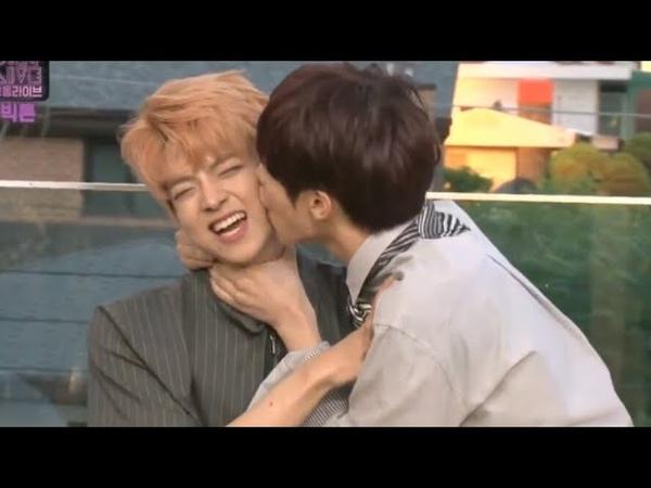 KPOP IDOL BOYS KISS PUNISHMENT [BTS Got7 NCT Winner Seventeen SJ Victon ect