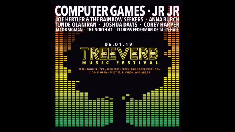 Bah nah nuh nuh, Ba nah nuh nuh, Da na nuh nuh, Da na nuh nuh - - Ann Arbor see you June 1st at @treeverb Music Festival!