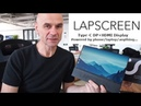 LAPSCREEN with faytech, 12.5 Type-C Display, runs off DP phone/laptop/anything