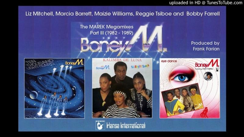 Boney M The Marek Album Megamixes Part III 1982 89