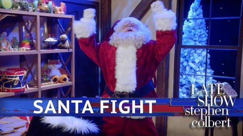 Kids Pitch Santa Fight Saving the Holiday from Atnas Starring Bryan Cranston