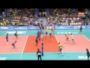 13.09.2018. 20:25 - Волейбол. Чемпионат мира. Мужчины. 2 тур. Группа B . Бразилия - Франция