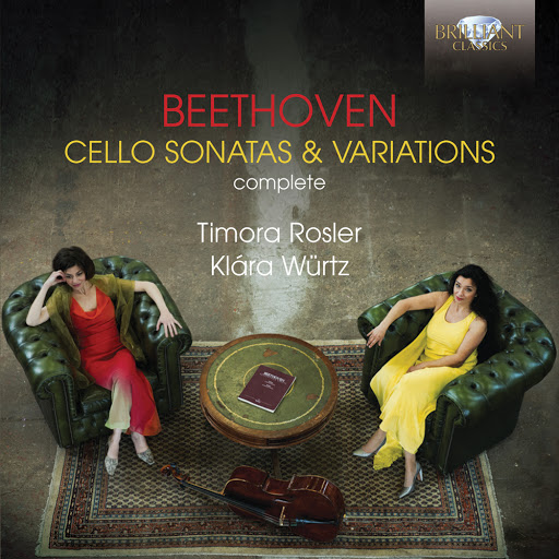 Ludwig Van Beethoven альбом Beethoven: Complete Cello Sonatas & Variations