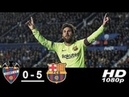 Levante vs Barcelona 0-5 All Goals Highlights 16/12/2018 HD