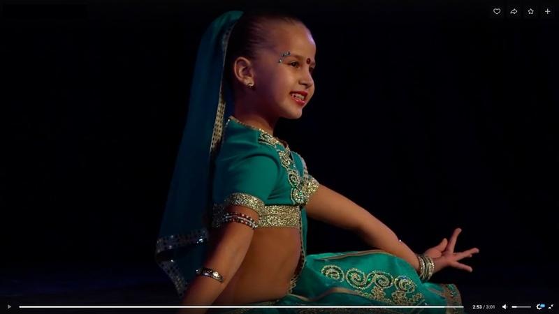 Индийский танец Лакшми Indian dance Lakshmi - 1 Место