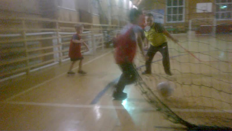 Юные футболисты Сямжи. У сына на тренировке 2