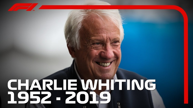 Charlie Whiting Remembering F1's much admired Race Director and Safety Delegate