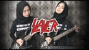 SLAYER - RAINING BLФФD Guitar Cover TIPS by Mel
