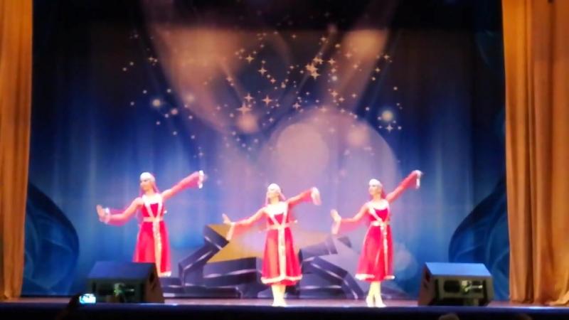 Образцовый хореографический коллектив Гамаюн Армянский танец