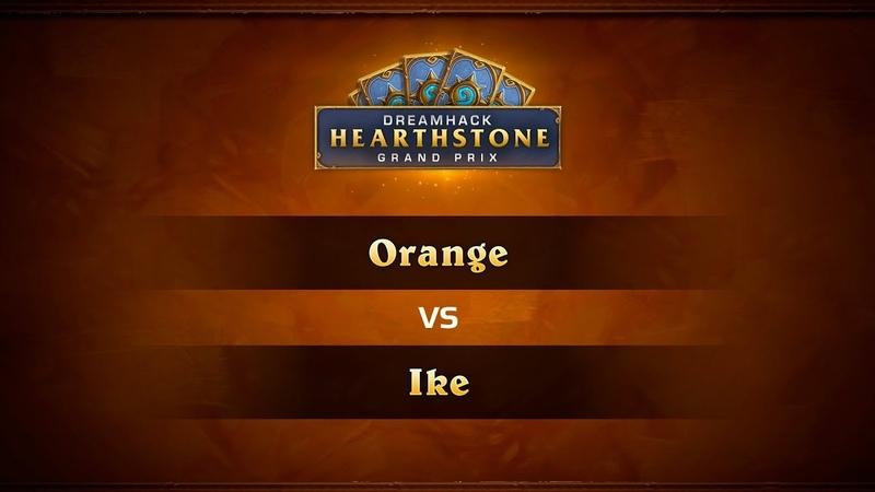 Orange vs Ike, DreamHack Atlanta 2018