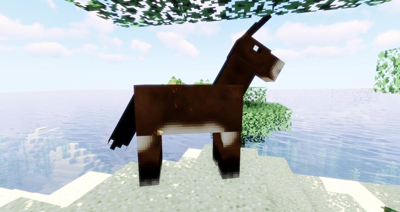 мул в Minecraft