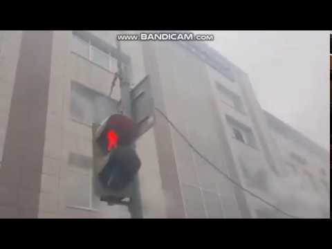 Пожар в Перми,в бизнес-центре