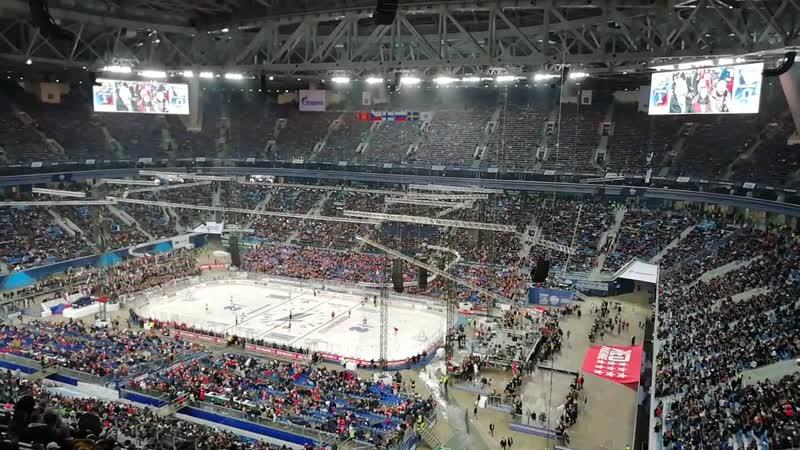Хоккей Россия-Финляндия 16.12.2018