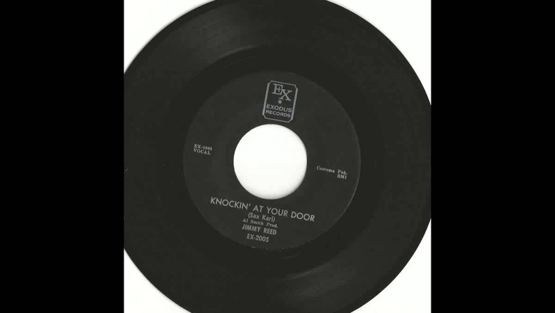 Jimmy Reed - Knockin At Your Door 45 RPM Exodus 2005