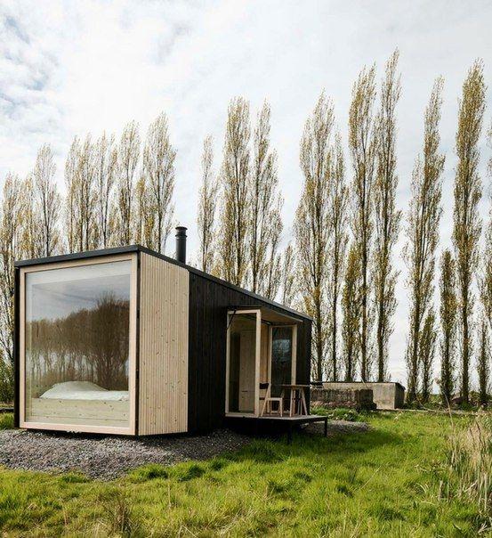Маленькие дома будешь на природе