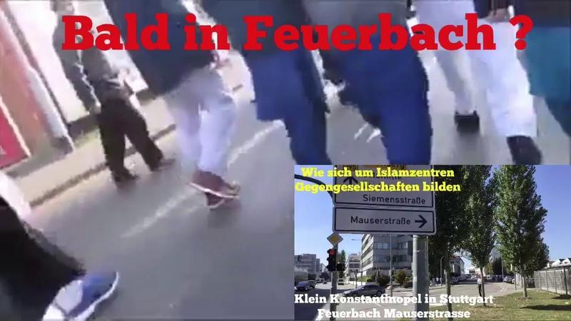 Bald in Stuttgart/Feuerbach ? Eine Vision mit Eindrücken aus England und Realbildereinblendung.