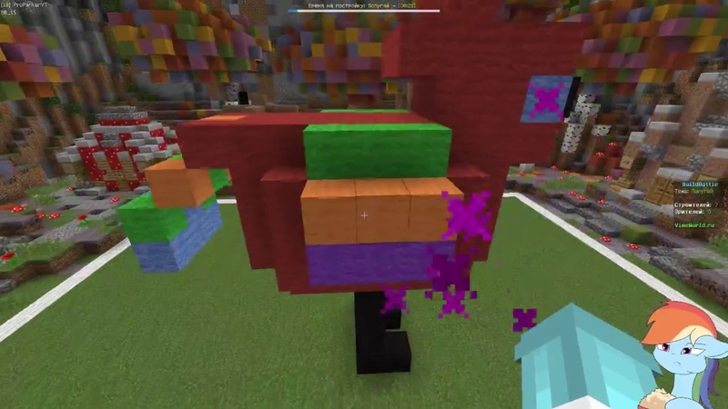 Пироженка вернулась на канал \Build Battle/ 1