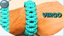 World of Paracord How to make Paracord Bracelet VIRGO Simple Fast Easy DIY Paracord Tutorial